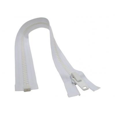 Fecho Náutico Branco PVC Dentado 10