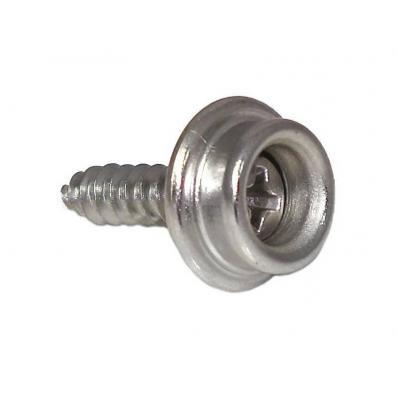 Botão Pressão C/Parafuso 16mm